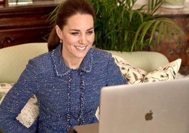 Kate Middleton en traje de tweed