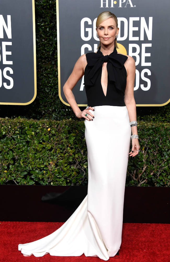 Golden Globes Charlize Theron