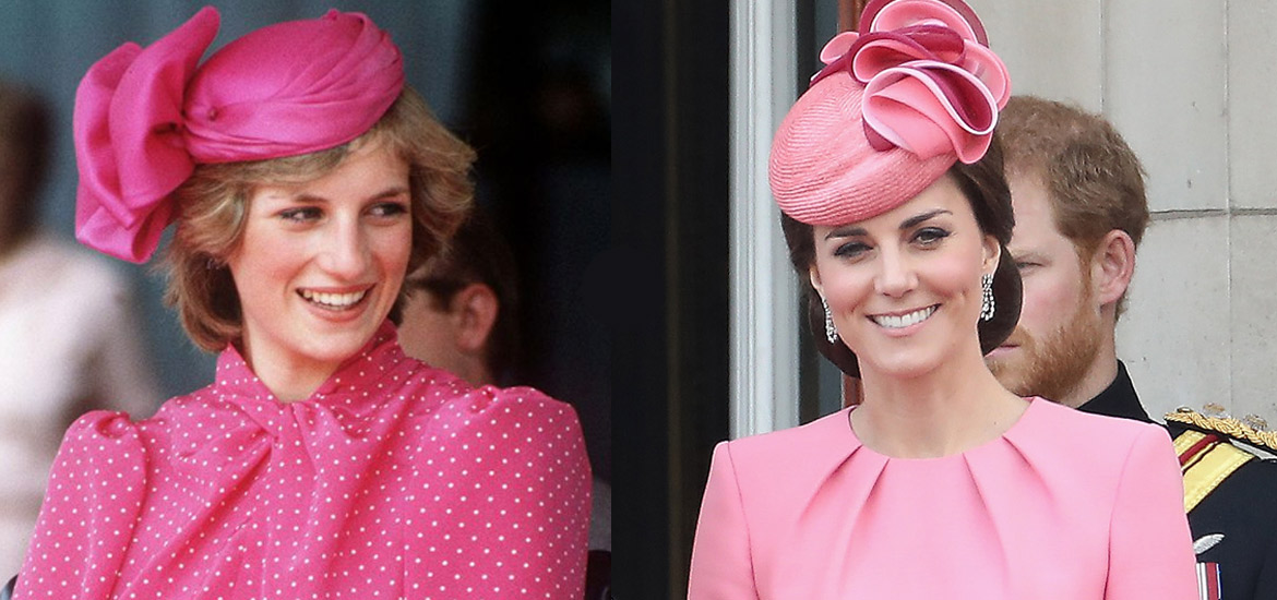 15 Veces En Las Que Kate Middleton Inspiro Sus Looks En Lady Di Revista Caras