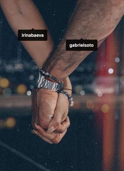 Irina Baeva y Gabriel Soto