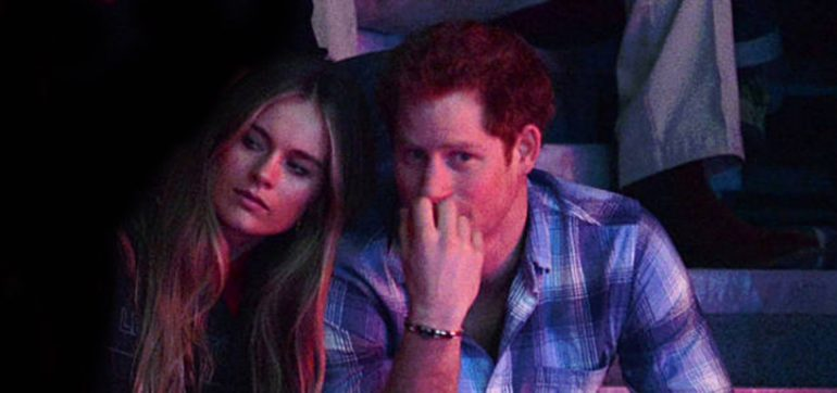Harry y Cressida Bonas