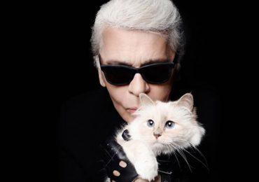 Choupette y Karl Lagerfeld