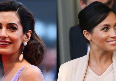 Amal Clooney y Meghan Markle