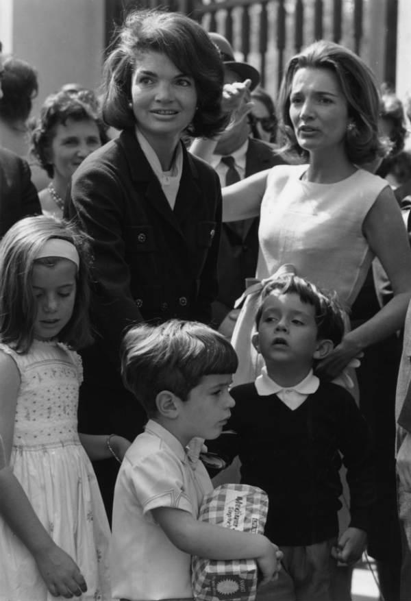 Lee Radziwill y Jackie Kennedy