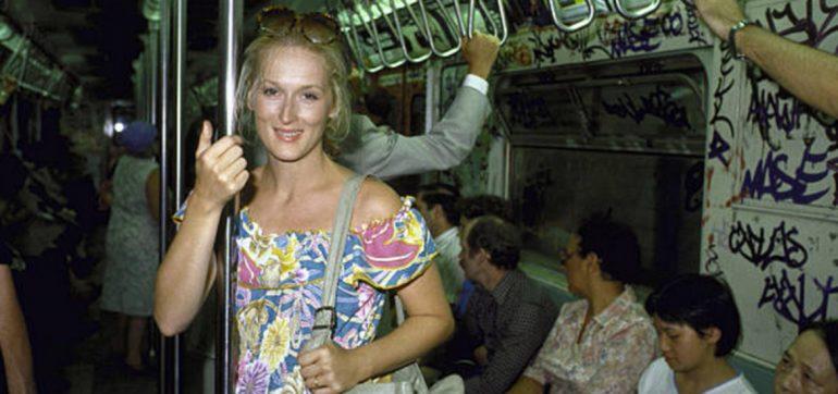 famosos en el metro
