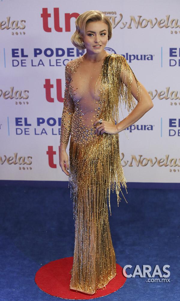 El Vestido De Angelique Boyer Del Que Todos Hablan Revista