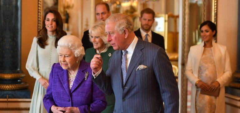 Duques de Cambridge y Sussex
