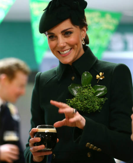 San Patricio kate middleton