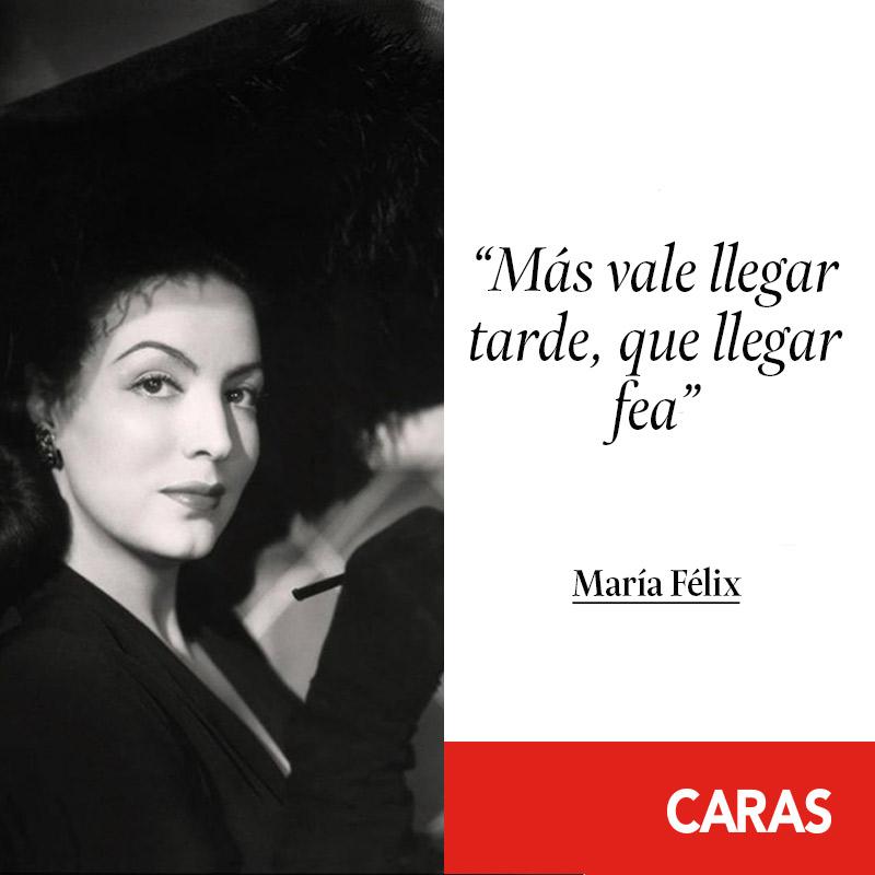 10 Frases Imperdibles De María Félix Revista Caras