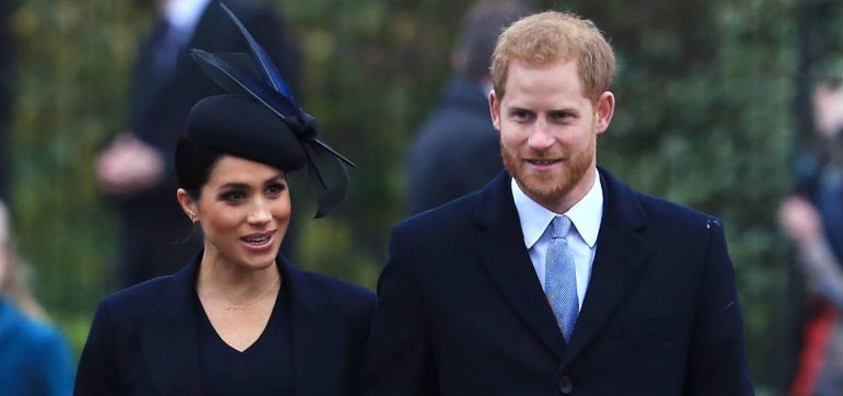 Harry y Meghan duques de sussex