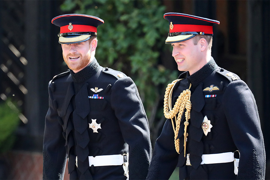 principe William y Harry