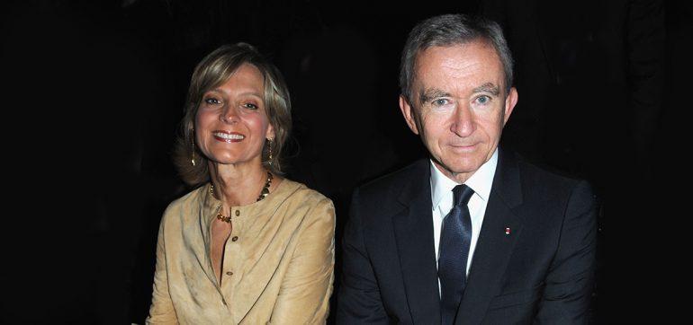 Louis Vuitton- Bernard Arnault y Helene Mercier-Arnault