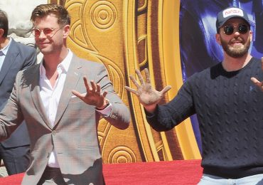 Chris Hemsworth y Chris Evans