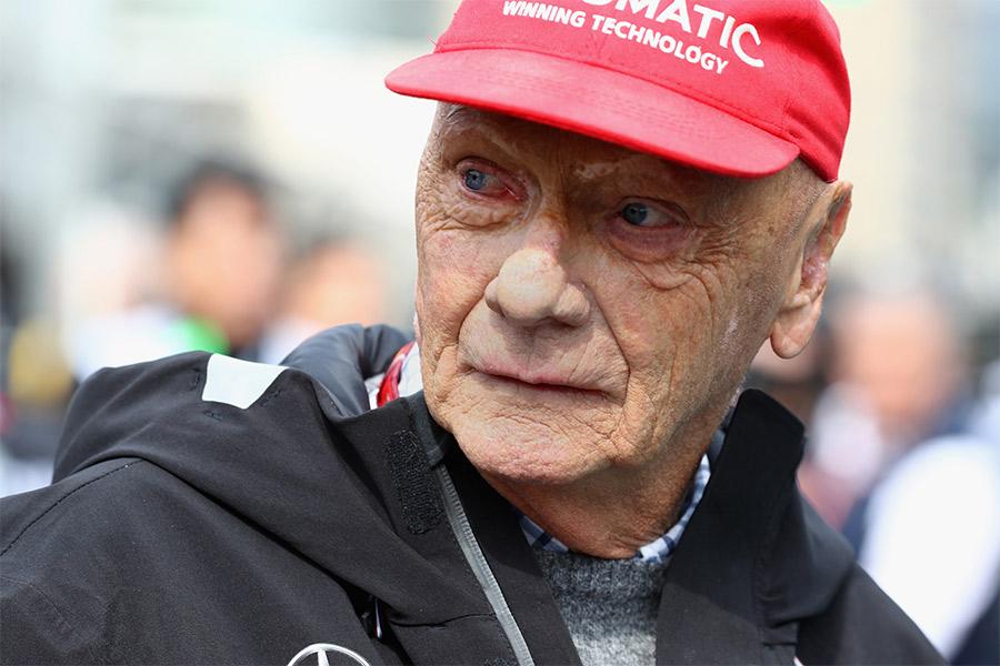 Niki Lauda Krank
