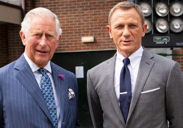 Príncipe Carlos y Daniel Craig