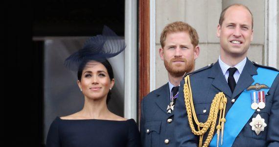 Duques de Sussex y príncipe William