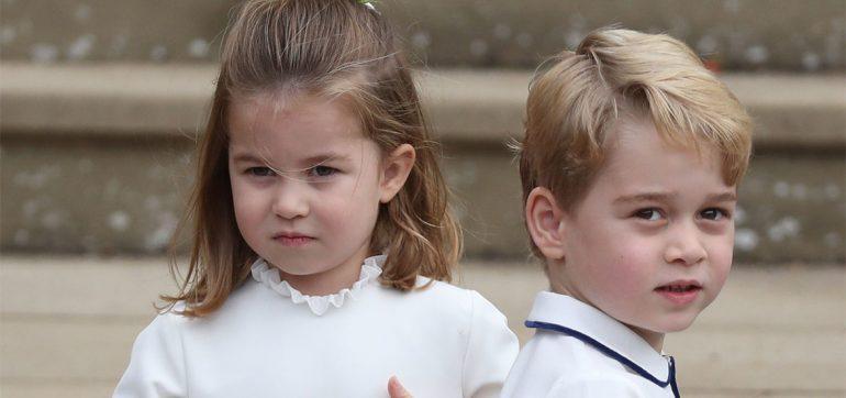 George y Charlotte tienen niñera estricta