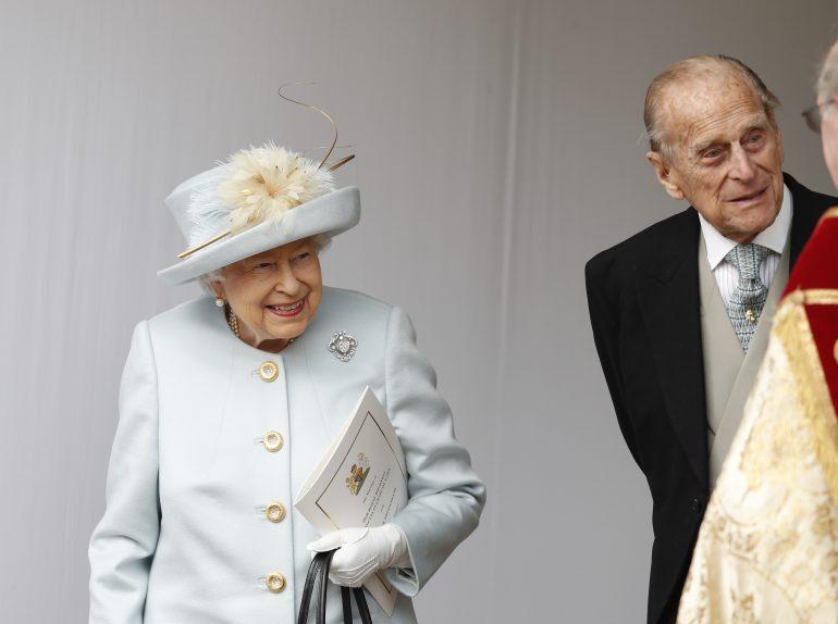 Reina Isabel y Felipe