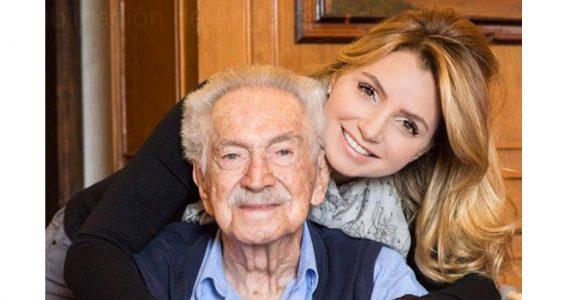 Angélica Rivera y bisabuelo