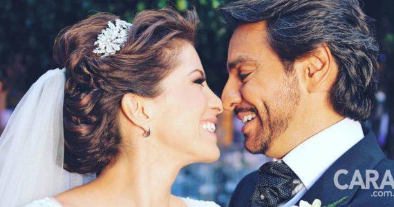 Eugenio Derbez y Alessandra Rosaldo celebran 8 años de casados