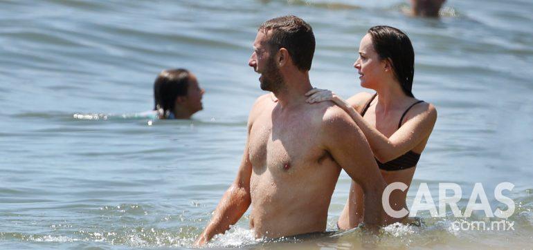 Chris Martin y Dakota Johnson