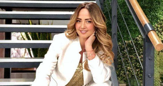 Andrea Legarreta hospitalizada