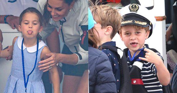 príncipe George y Charlotte