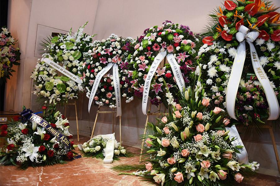 funeral Camilo Sesto
