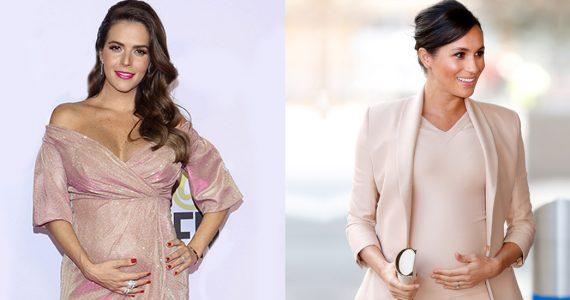 Claudia Álvarez y Meghan Markle