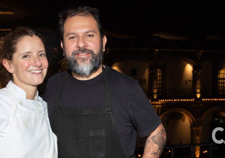 Enrique Olvera y Elena Reygadas