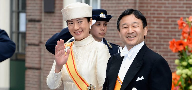 pareja imperial - Naruhito y Masako