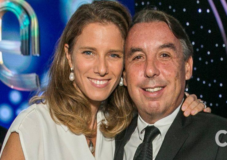 Sharon Fastlicht y Emilio Azcárraga