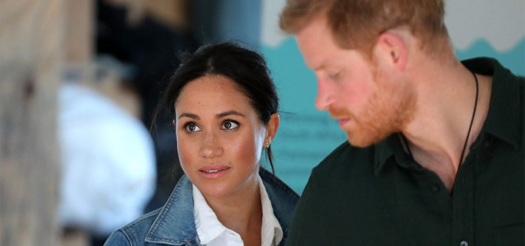 Harry y Meghan reparten comida en Los Angeles