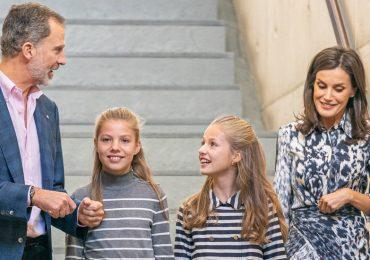 Letizia, Princesa Leonor y Sofía