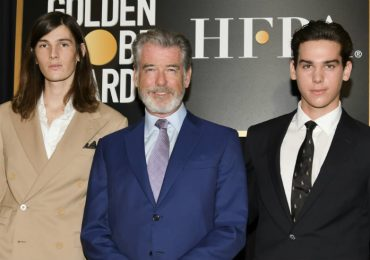 Pierce Brosnan Golden Globes