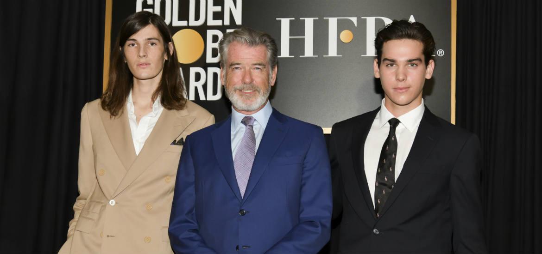 Pierce Brosnan Golden Globes