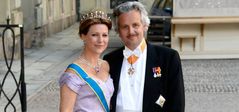 princesa Marta Luisa Ari Behn