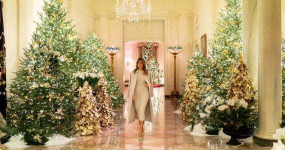 Melania-Casa Blanca