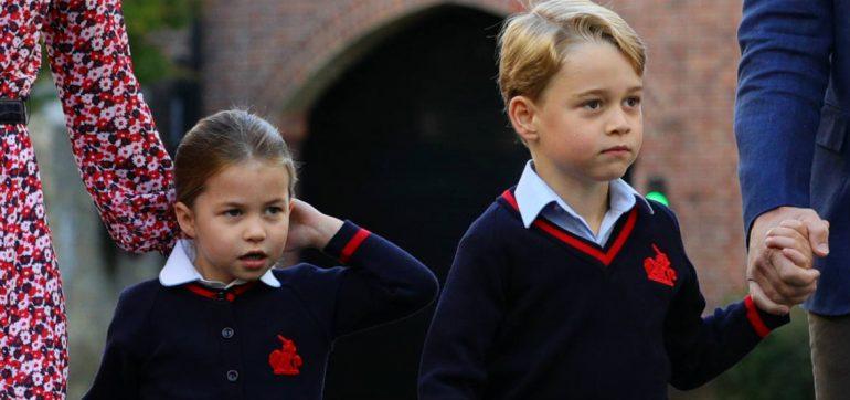 George y Charlotte sin vacaciones por corona