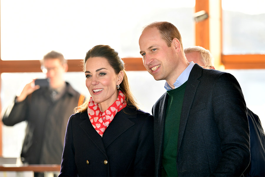 Kate Middleton y príncipe Harry