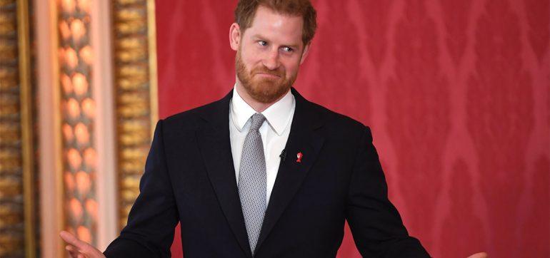 príncipe Harry contra las redes sociales