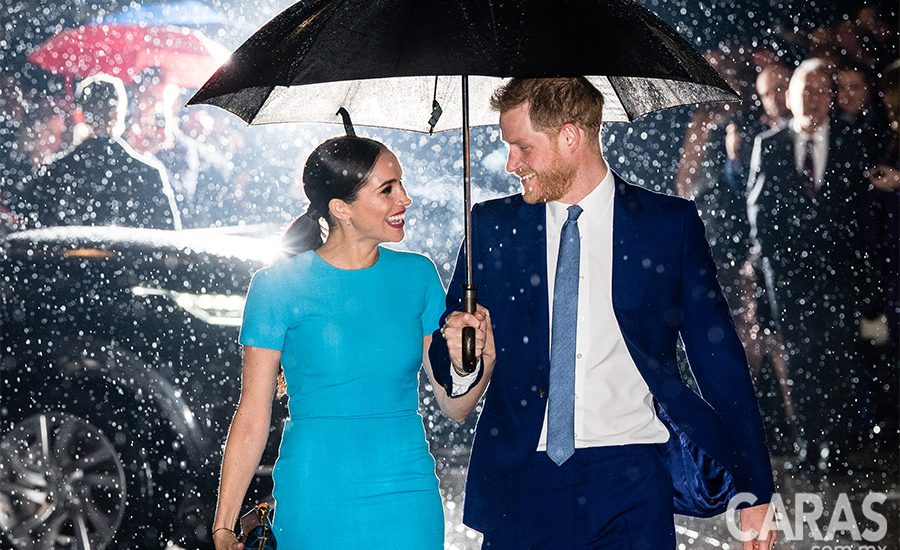 Meghan y Harry en California