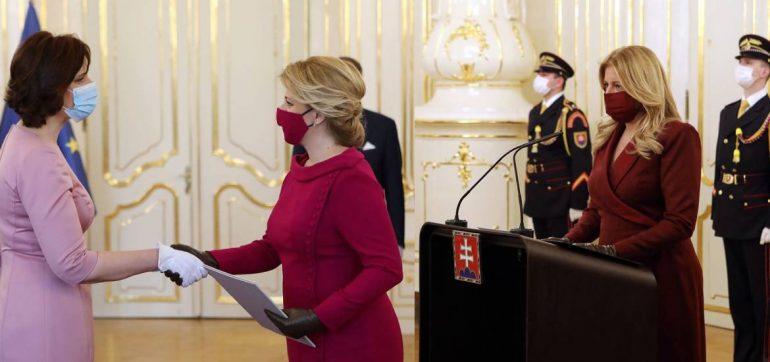 Presidenta de Eslovaquia