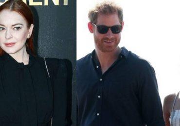 Lindsay Lohan aconseja a Harry y Meghan