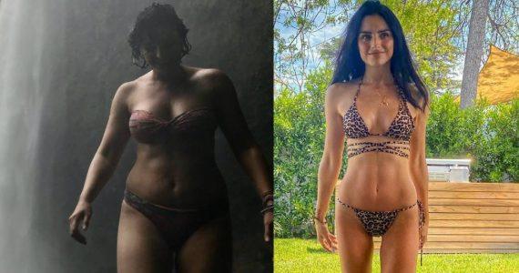 Aislinn Derbez platica cómo bajó de peso