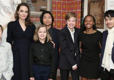 Angelina Jolie habla sobre sus hijos y la cuarentena