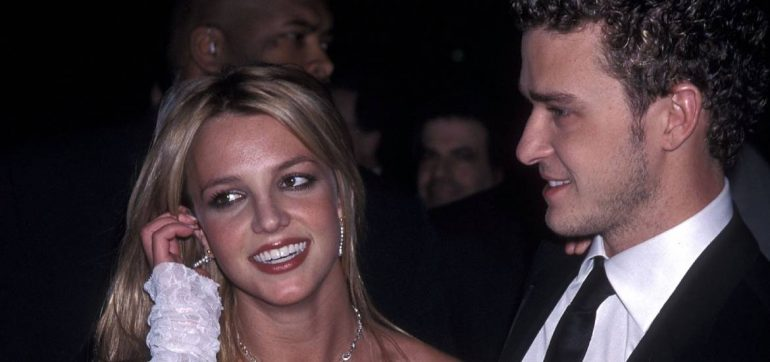 Britney Spears baila musica de Justin Timberlake