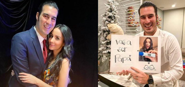 Chantal Torres le dice a Mike Torruco que será papá