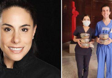Sonia Arias y su iniciativa Invita a comer un héroe
