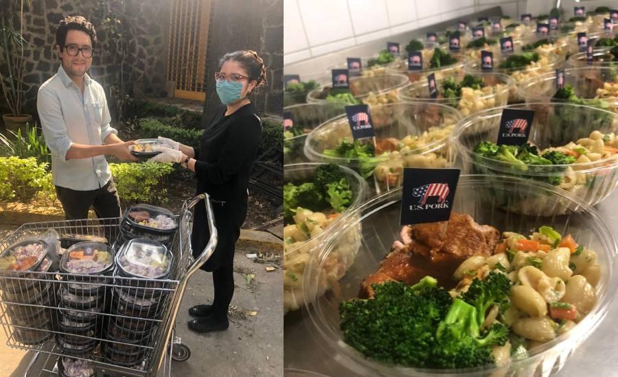 Sonia Arias y su iniciativa Invita a comer un heroe